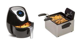 air fryers vs deep fryers