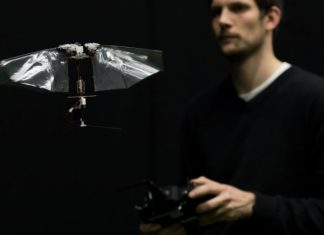 Flying Robot Which Is Faster And Amazing