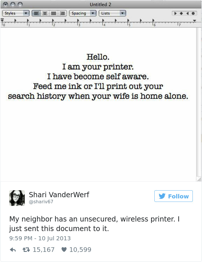 Funny Tweets - 10 Tweets About Technology To Make Your Day