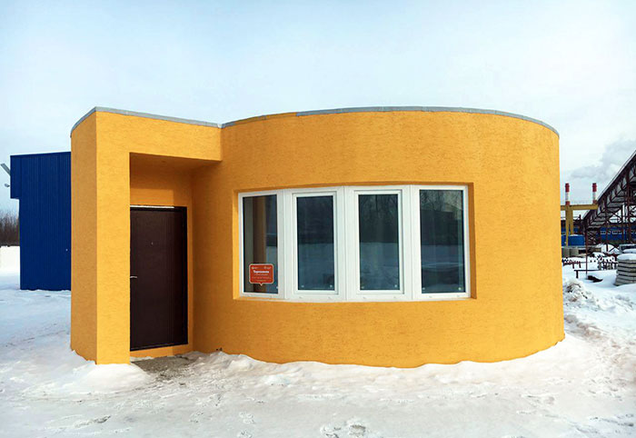 3D Printed House In Less Than 24 Hours For $11000