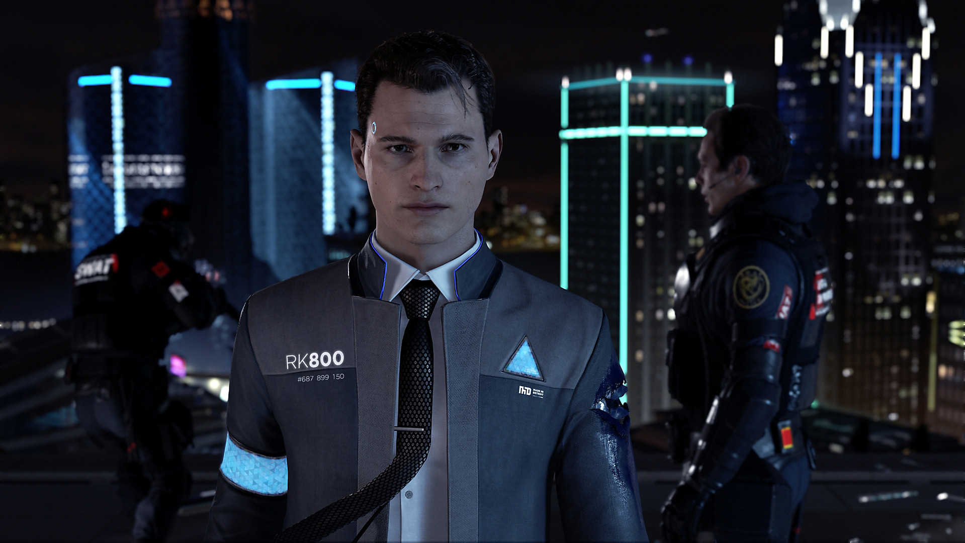 Detroit Become Human -Android AI Robot Vs Human