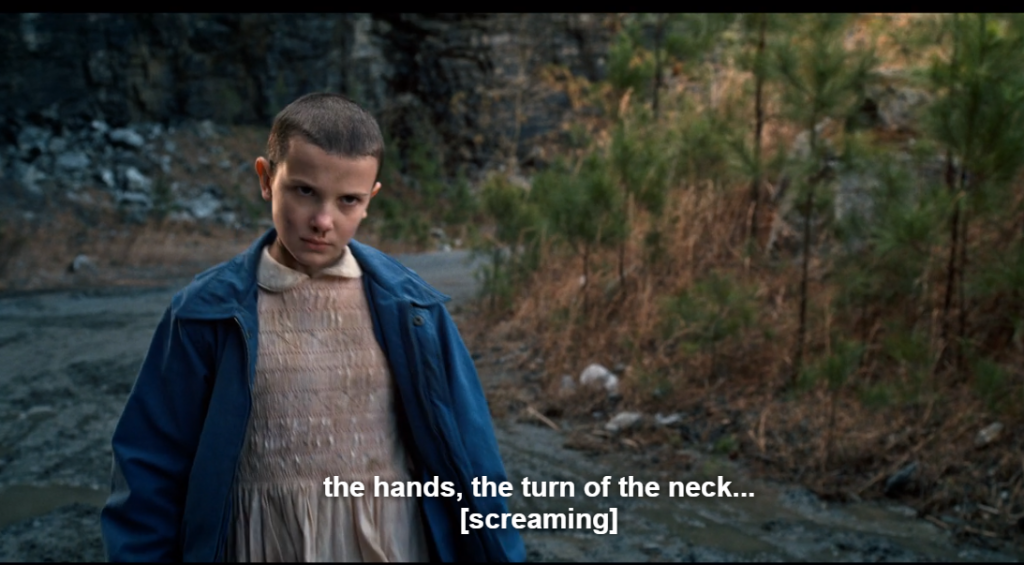 Stranger things netflix series