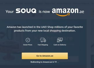 Amazon.ae is the new name for Souq.com in UAE