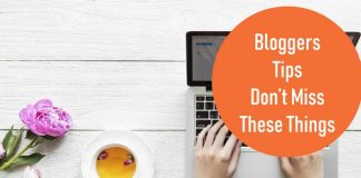 Bloggers Tips