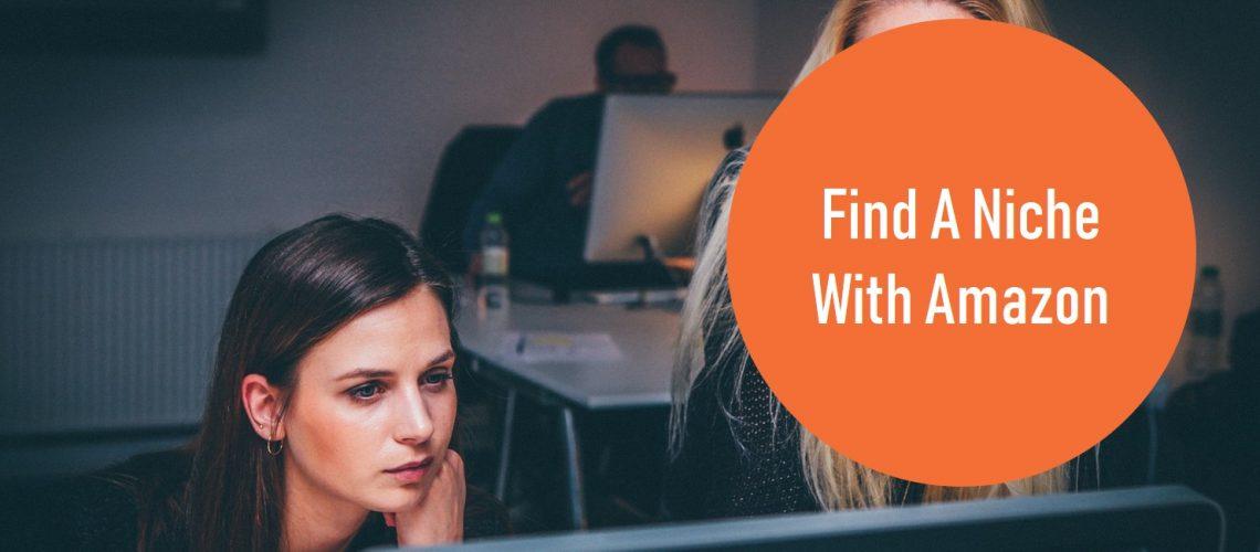 find a niche with amazon