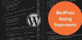 wordpress hosting requirements