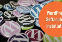 wordpress softaculous installation