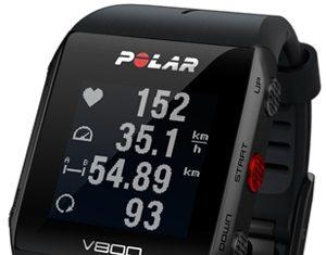 Polar V800 sports watch swimming tracker