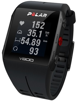 Polar V800 sports watch swimming tracker