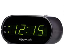 Digital Alarm Clock with LED Display